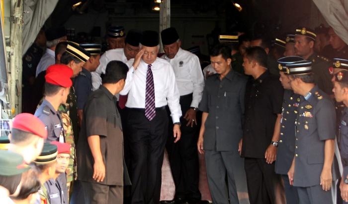 PM BERI PENGHORMATAN TERAKHIR KEPADA JENAZAH AHMAD HURAIRAH